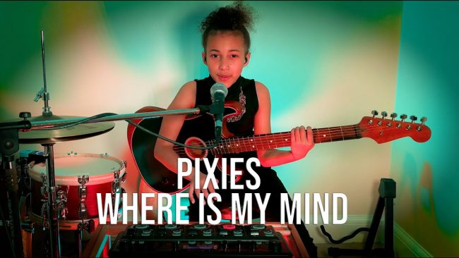 """""""¡Buen trabajo!"""": Pixies felicita a Nandi Bushell por su versión de """"Where Is My Mind?"""""""