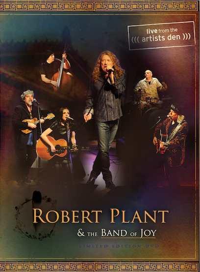 Robert Plant lanza DVD en vivo con canciones de Led Zeppelin
