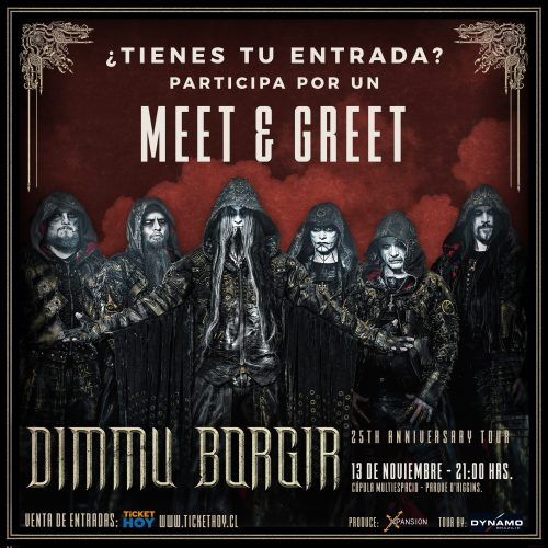 Concurso: Gana Meets & Greets con Dimmu Borgir en Chile
