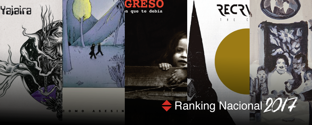 Nacion Rock Awards Chile: Los mejores discos nacionales del 2017