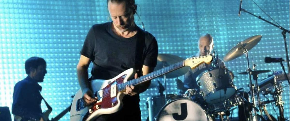 Concierto de Radiohead en Chile será transmitido por streaming en vivo