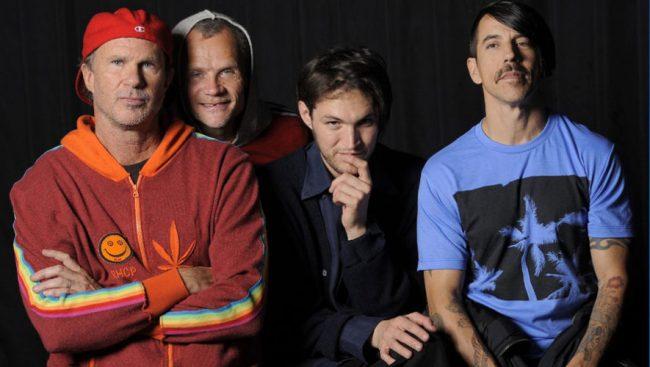 Red Hot Chili Peppers entrará al estudio para trabajar en su nuevo álbum