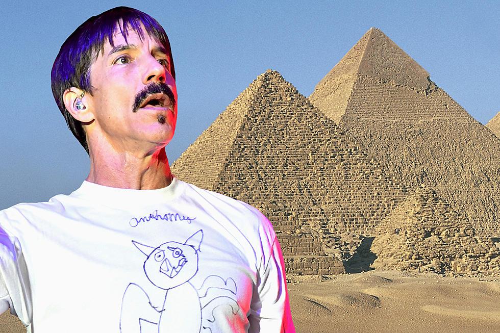 Red Hot Chili Peppers realizará histórico show en las Pirámides de Egipto
