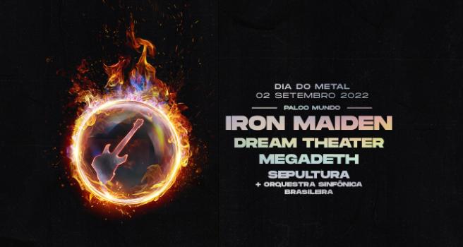 Rock in Rio confirma su versión 2022 con Iron Maiden, Megadeth, Dream Theater y Sepultura