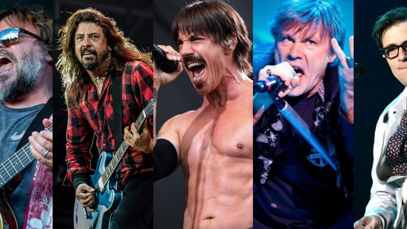 Rock in Rio: Red Hot Chili Peppers, Iron Maiden y Foo Fighters encabezan el festival 2019