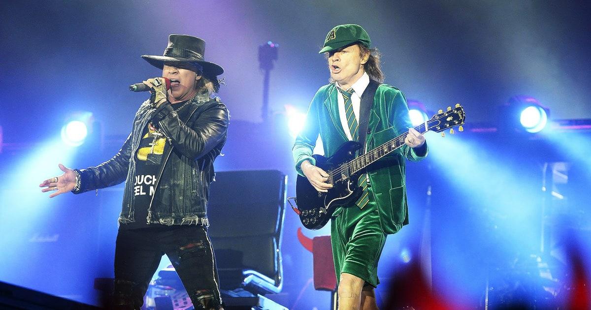 """VIDEO: AC/DC tocó por primera vez desde 1982 su clásico """"Live Wire"""""""