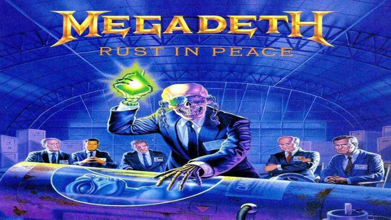 """Dave Mustaine lanzará libro centrado en la creación de """"Rust in Peace"""" de Megadeth"""