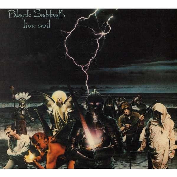 """Live Evil"": el néctar del Black Sabbath en vivo junto a Ronnie James Dio"