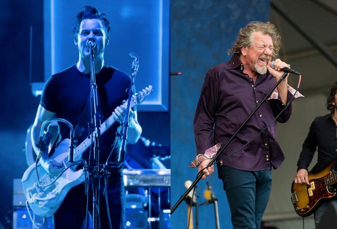 Se confirma sideshow Lollapalooza 2015 de Robert Plant y Jack White juntos