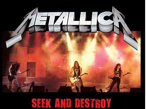 """Cancionero Rock: """"Seek & Destroy"""" – Metallica (1983)"""