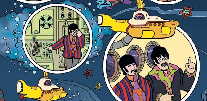 Realizarán cómic de Yellow Submarine de The Beatles para celebrar su 50 aniversario