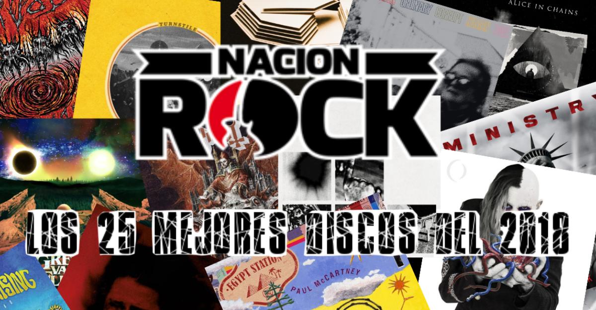 Nación Rock Awards 2018: Los 25 mejores discos internacionales de 2018, del 25 al 12, Primera Parte