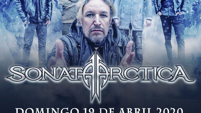 Sonata Arctica anuncia su regreso a Chile con shows en Santiago y Puerto Montt
