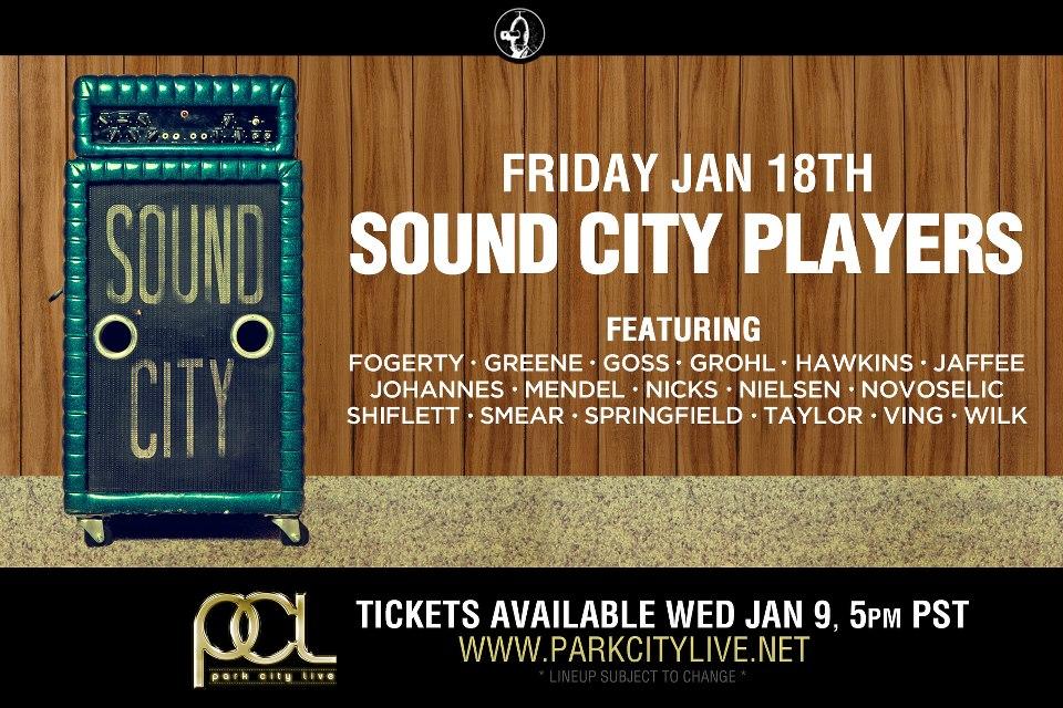 Se revela alineación de The Sound City Players, la súperbanda de Dave Grohl