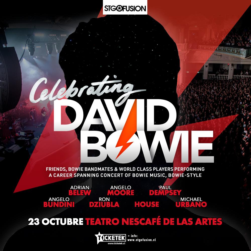 Adrian Belew vuelve a Chile con concierto en homenaje a David Bowie