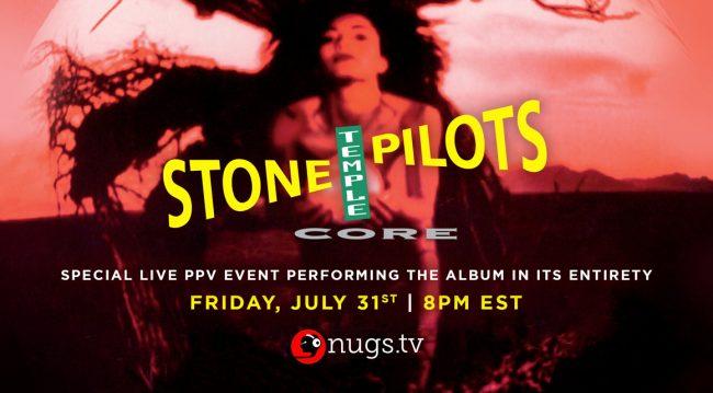 "VIDEO: Stone Temple Pilots tocó completo su álbum ""Core"""
