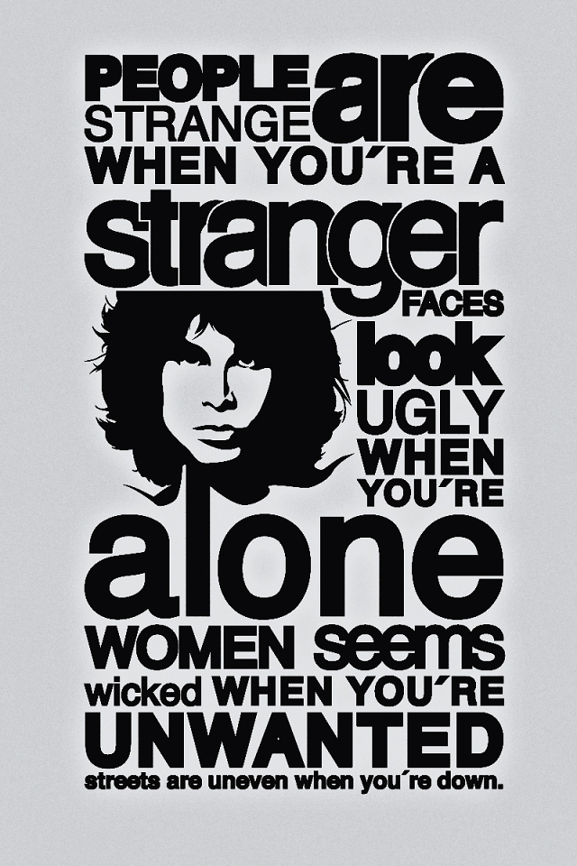 "Cancionero Rock: ""People Are Stranged"" The Doors (1967)"