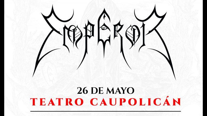 Concierto de Emperor en Chile se cambia al Teatro Caupolicán