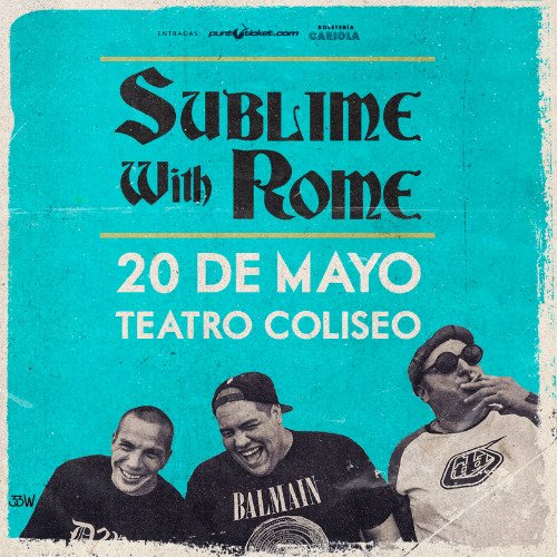 Sublime-with-rome-en-chile