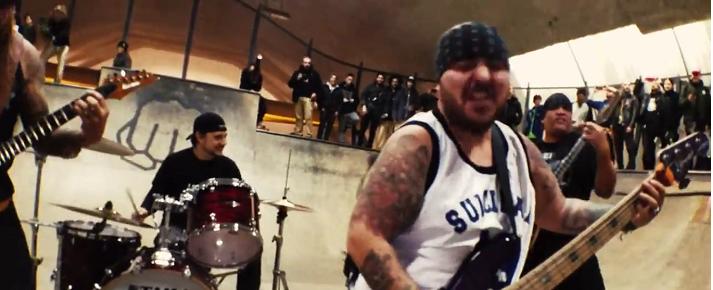 """Estreno: mosh, skate y actitud en """"Living for Life"""", el nuevo video de Suicidal Tendencies"""