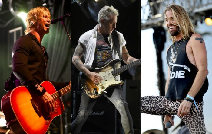 Miembros de Foo Fighters, Pearl Jam y Guns N' Roses tocaron juntos en vivo