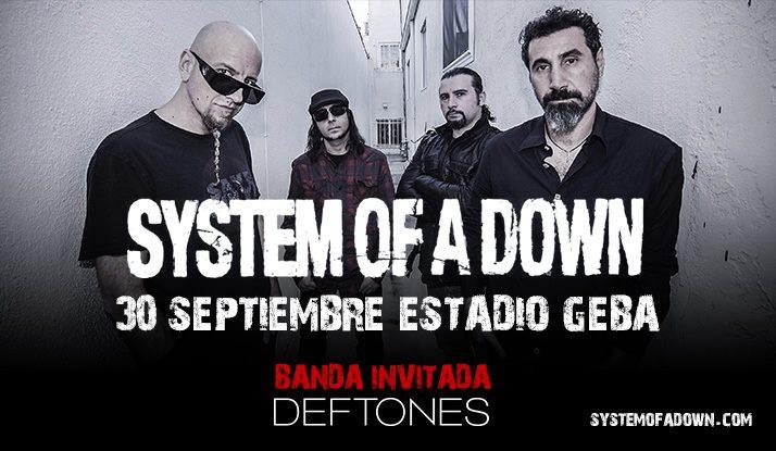 System Of A Down y Deftones confirman gira sudamericana