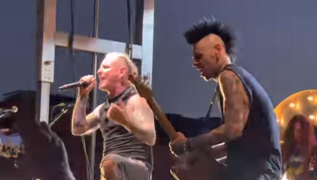 """Sin máscara: Corey Taylor interpreta """"Wait And Bleed"""" de Slipknot en su regreso a los shows en vivo"""