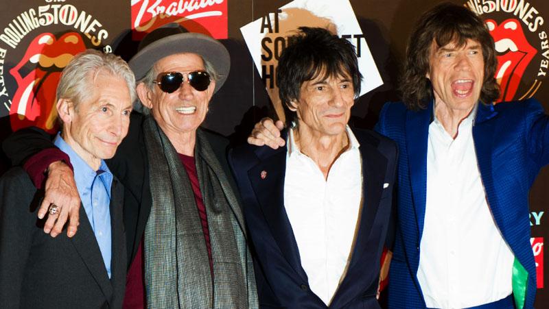 "The Rolling Stones revelan versión inedita de ""Brown Sugar"" con Eric Clapton"