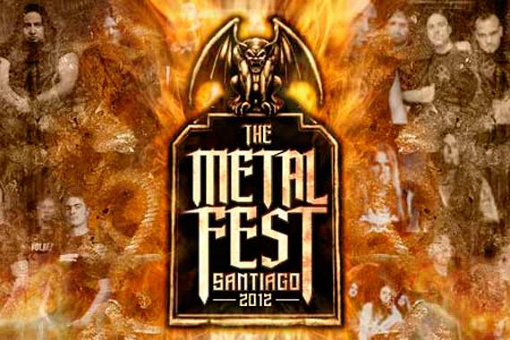 Metal Fest Chile 2012: Ya puedes ver el orden de bandas por día