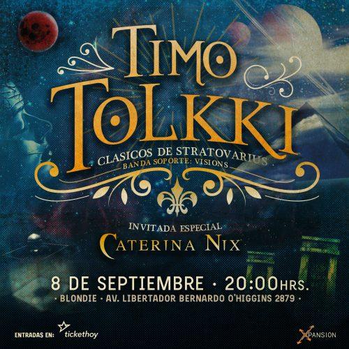Timo Tolkki llegará a Chile para presentar los clásicos de Stratovarius