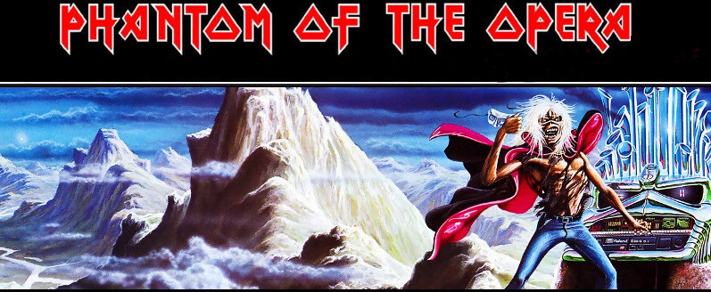 "Cancionero Rock: ""Phantom of the Opera"" – Iron Maiden (1980)"