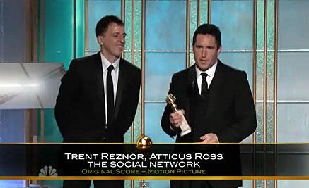 Trent Reznor y Chris Cornell nominados a los Globos de Oro