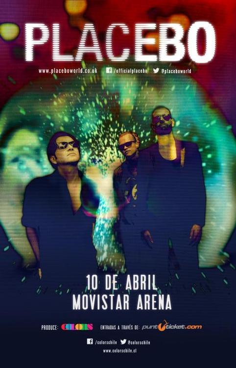 Show de Placebo en Chile suma dos teloneros chilenos de primer nivel