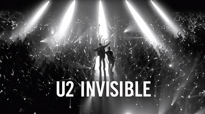 """U2 estrena el video de su nuevo tema """"Invisible"""", chequéalo acá"""