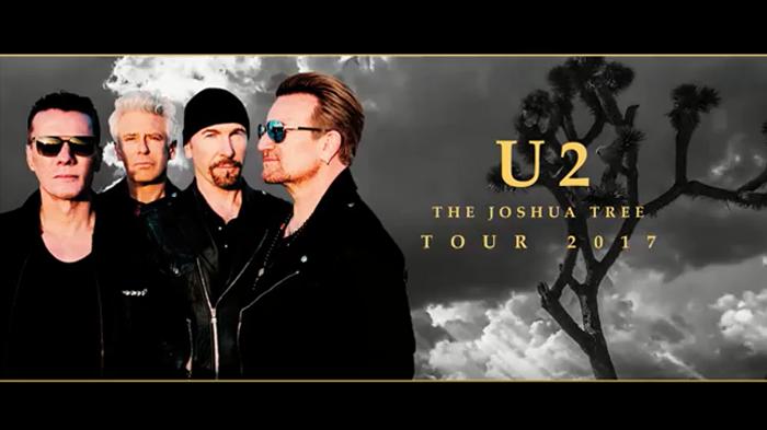 Resultado de imagen para THE JOSHUA TREE TOUR 2017