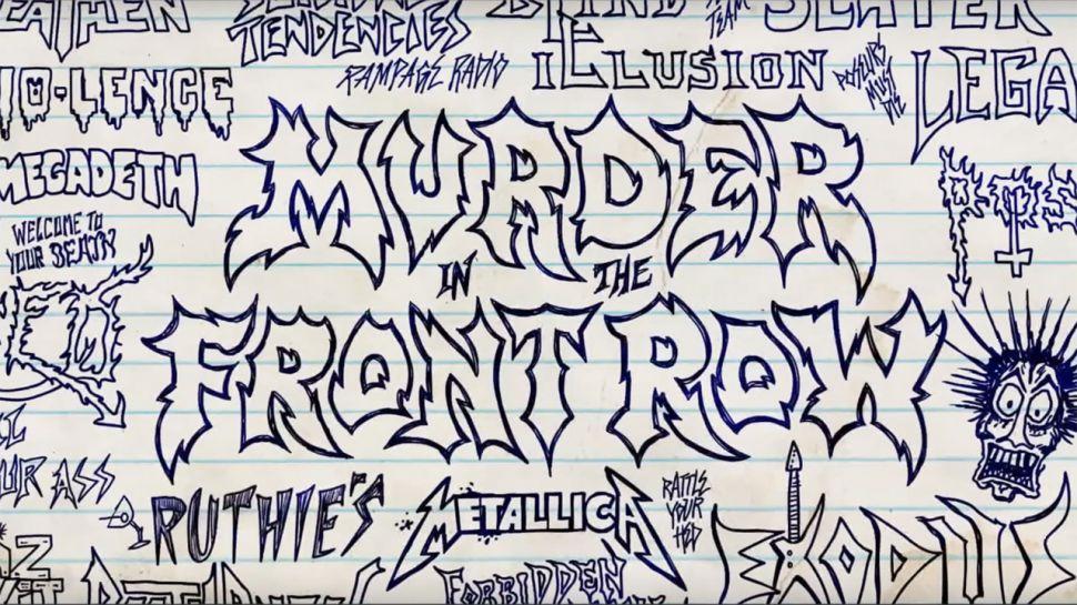 Murder In The Front Row: Llega un nuevo documental del Thrash americano protagonizado por Metallica, Megadeth, Slayer y más