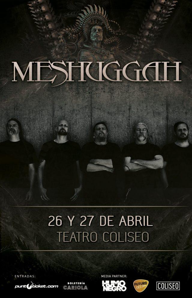 meshuggah en chile