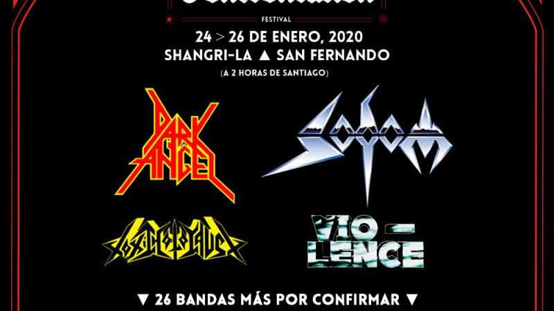 Evil Confrontation anuncia su cartel: Dark Angel, Vio-lence, Toxic Holocaust y Sodom animarán el evento