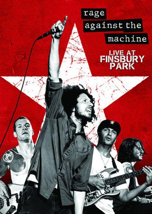 "Rage Against The Machine lanzan nuevo DVD en vivo: ""Live At Finsbury Park"""