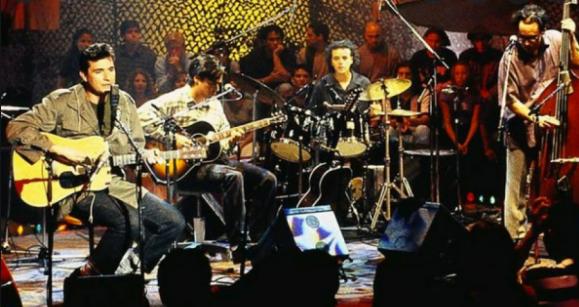 Conciertos que hicieron historia: el recuerdo del atesorado MTV Unplugged de Los Tres y el homenaje a Roberto Parra (1995)