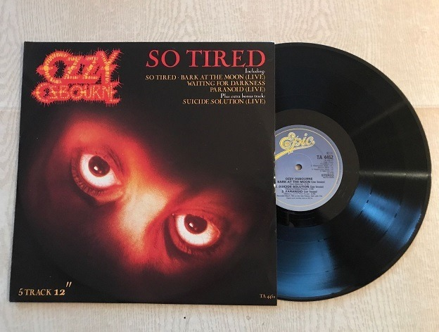 "Cancionero Rock: ""So Tired"" – Ozzy Osbourne (1983)"