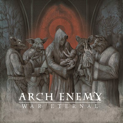 "La nueva cara de Arch Enemy en el fresco ""War Eternal"""