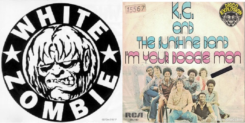 """2×1: """"I'm Your Boogie Man"""" KC & the Sunshine Band vs. White Zombie"""